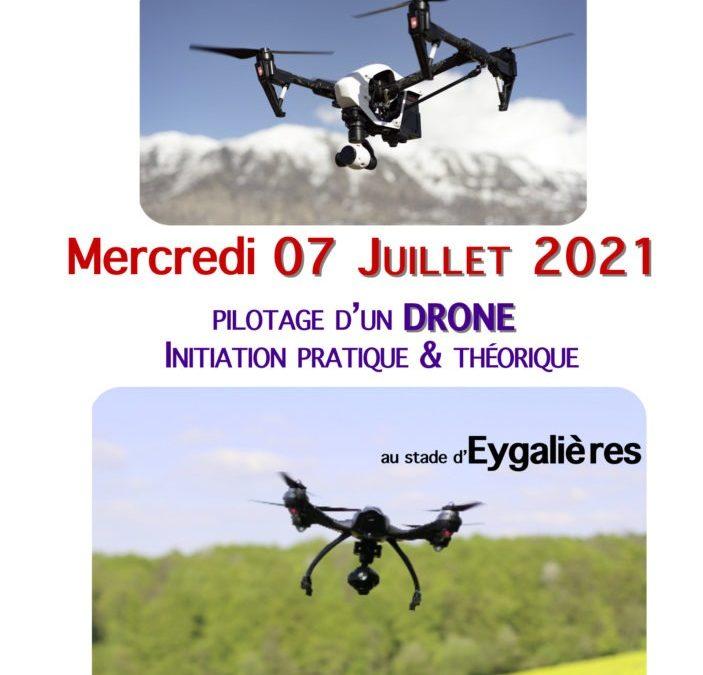 """Formation """"Pilotage d'un DRONE"""""""